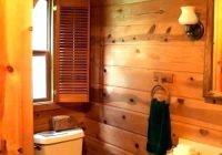 small cabin bathrooms athayaideasco Cabin Bathroom Ideas