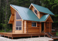small cabin kit cozy log home the unique roof designs and Build Your Own Cabin Kits