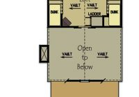 small cabin plan with loft small cabin house plans Small Camp Plans