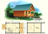 small cabin with loft floor plans hybridmediasl Log Cabin With Loft Floor Plans