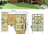 small floor plans cabins dog trot house plan lake cabin Small Lake Cabin Ideas