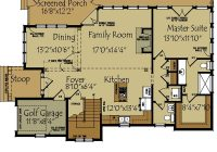 small lake cottage floor plan max fulbright designs Lake Cabin Floor Plans