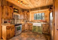 small rustic cabin kitchens the image Small Log Cabin Kitchens