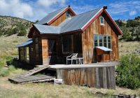 small rustic cabin on 40 acres in colorado with mountain views Colorado Log Cabins For Sale