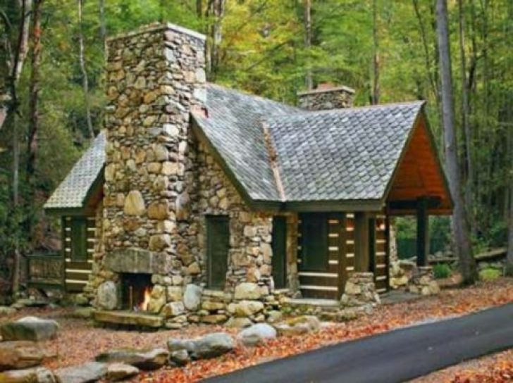 Permalink to Elegant Small Stone Cabin