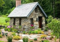 small stone cottages truly timeless Small Stone Cabin