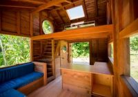 small wooden cabin that is big on style home decor tiny Small Wooden Cabin