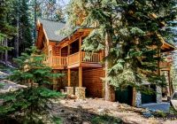 stately 12 person log cabin in the woods of south lake tahoe in california Cabin In South Lake Tahoe