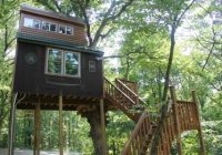 stay in a tree house in the shawnee national forest Cabins In Shawnee National Forest
