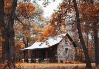 stone cabin in the woods favething Small Stone Cabin