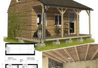 Stylish 13 best small cabin plans with cost to build craft mart Cabin Plans With A Loft Designs