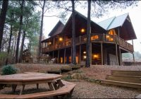 talako lodge cabin rentals beavers bend lodging Oklahoma Vacation Cabins