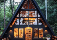 the ayfraym cabin prefab home can be yours for 112000 Building An A Frame Cabin