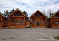 the cabins shown on their website picture of cabins of Cabins Of Mackinac