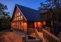 the hideaway cabin clear sky ridge Wolf Pen Gap Cabins