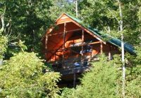 the mountain log cabin lookout secluded luxury lodging on Secluded Cabins In Missouri