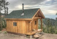 the rustic hunting cabin in our sights Small Hunting Cabins