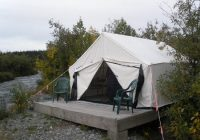 the tent we stayed in picture of denali highway cabins Denali Highway Cabins