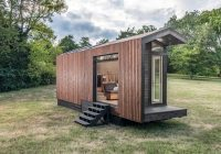 the tiny orchid home is a compact cabin and contemporary Small Contemporary Cabins