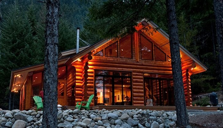 Permalink to Night Log Cabin Breaks