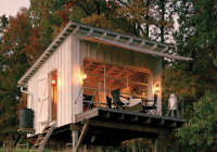 this tiny cabin in west virginia is completely off grid West Virginia Camping Cabins