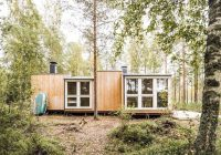 thoughtful tiny house in the woods cost under 14k to build Tiny House Cabins