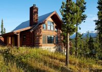 three story cabin rental with hot tub for big sky ski vacation in montana Big Sky Montana Cabins
