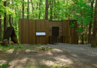 tiny cabin rentals in secret locations to debut in atlanta Cabins In Atlanta