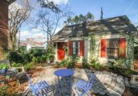tiny cottage vacation rental in savannah georgia tiny Savannah Ga Cabins