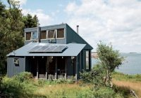 tiny off grid cabin in maine is completely self sustaining Solar Panel Retreat Cabin