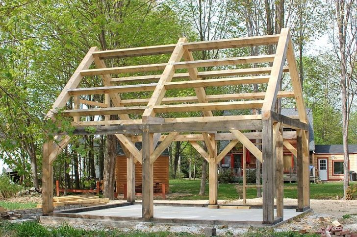 Permalink to 11 Simple Timber Frame House Plans  Gallery
