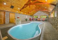 top 4 reasons to spend a winter vacation at our pigeon forge Gatlinburg Cabins Indoor Pool