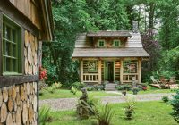 tour the tiny cottage in the woods Images Of Small Cabins And Cottages