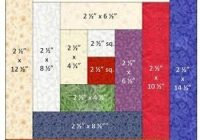 traditional log cabin bock measurements log cabin quilts Log Cabin Quilter