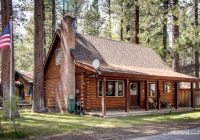 traditional log cabin near the shores of south lake tahoe california Cabins In South Lake Tahoe
