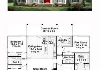 traditional style house plan 59952 with 3 bed 3 bath 3 Bedroom Wendy House Plans