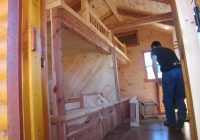trophy amish cabins llc 10 x 20 bunkhouse cabinshown in 10 X 20 Cabin With Loft