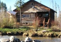 waterfront cabins on the north fork of the colorado river Mountain Cabins Colorado