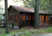 waterfront private bushkill creek cabin sleeps 6 east stroudsburg Bushkill Falls Cabins