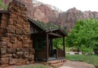 western cabin picture of zion lodge zion national park Zion National Park Cabin