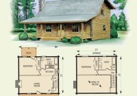wilderness log home and log cabin floor plan in 2021 log Small Cabin With Loft Floor Plans