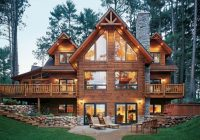 wisconsin custom built log home cabin style homes cabin Log Cabin Style