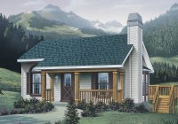 woodsmill vacation cabin home plan 007d 0042 house plans Vacation Cabin Plans