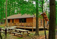 wv division of natural resources offers october state parks North Bend State Park Cabins