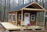 you can do this diy tiny cabin in the woods project Diy Hunting Cabin