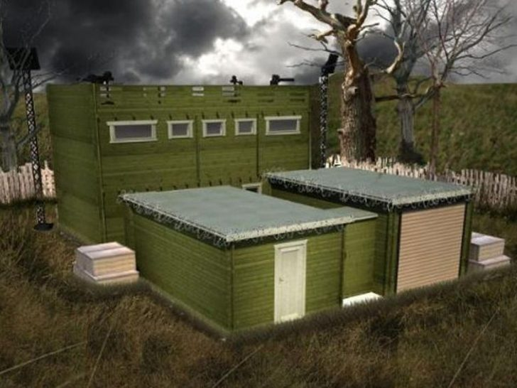 Permalink to Perfect Log Cabin Zombie Apocalypse Gallery
